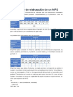 Ejemplo de Elaboración de Un MPS - Copia