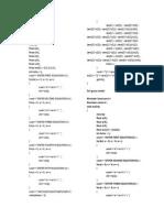 TURBO C++ CODES FOR GAUSS SEIDEL