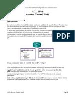 ACL IPv6