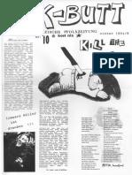 K-BUTT. Välzische Pfolxzeitung. Nr. 10