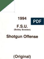 1994 Florida State Shotgun Offense - Bobby Bowden - 167 Pages