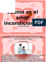 Cómo Es El Amor Incondicional - Joel Osteen