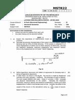 Strl Dynamics M. Tech