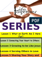Life Together Series first six lessons