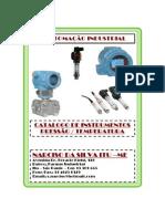 Catalogo Pressão e Temperatura