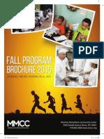 Fall Brochure 2015