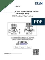 Manual bomba DESMI DK-9400