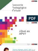 Presentación_APV OFICIAL Pptx Actualizada Al 11 de Abril