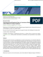 Experimental and Empirical Time to Corrosion of Reinforced Concrete Structures under Different Curing Conditions.pdf