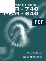 Yamaha PSR 640
