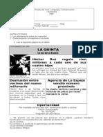 5º_Prueba+Nivel+I+semestre_Lenguaje