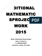 Addmaths Project Work 2015