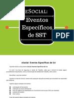Esocial Eventos Especificos de Sst