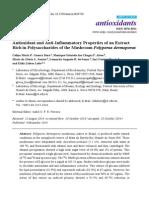 Ação antioxidante e antiinflamatoria de Polyporus Dermoporus