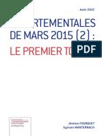 Jérôme Fourquet et Sylvain Manternach – Départementales de mars 2015 (2)