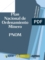 Plegable Plan Nacional de Ordenamiento