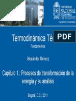 procesos transferencia de energía