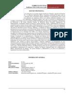 Curriculum Vitae Ulises 2015
