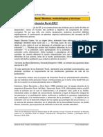 Extension Rural , Modelos , Metodologias y Tecnicas