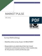 Market Pulse, July 2015