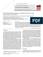 Finite element model verification for packaged printed circuit board by experimental modal analysis