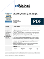10 bSecrets of the Worlds Greatest Business Communicators e