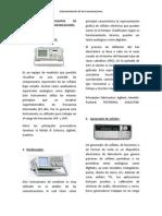 Instrumentacion de las Comunicaciones