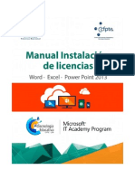 Instructivo Para Instalar Las Licencias de Office 365