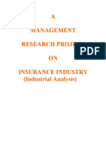 Industry Analysis of Insurance
