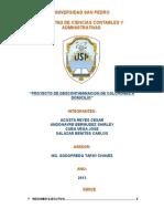 Proyecto Descontaminadora de Colchones a Domicilio