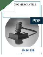 Derecho Mercantil Materia