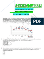 Data Interpretation For SBI PO BY Gurlal