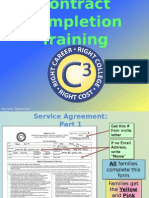 c3 contract completion training- master