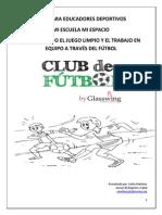 Guía Para Educadores Voluntarios de Fútbol 2015.