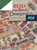 501 Cross Stitch Designs_Sam Hawkins