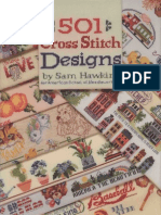 501 Cross Stitch Designs_Sam Hawkins