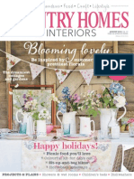 Country Homes & Interiors - August 2015 UK