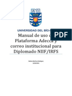 Manual de Uso Plataforma