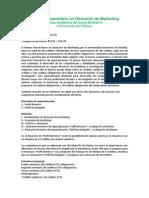 Oferta Academica Direccion Marketing Proximo Curso