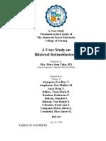 Retinoblastoma Case Study