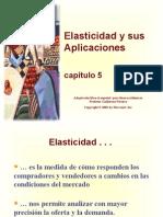 Elasticidad y Su Aplicaciòn