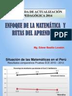 Enfoque de Las Matematicas y Rutasdelaprendizaje