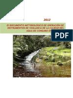 Documento Metodologico de Indicadores Vigilancia Calidad Del Agua