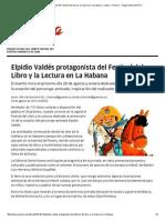 Elpidio Valdés Protagonista Del Festival Del Libro y La Lectura en La Habana › Cultura › Granma - Órgano Oficial Del PCC