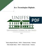 Sociedade e Tecnologias Digitais