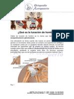 Ortopedia Aeropuerto Manual Luxación de Hombro