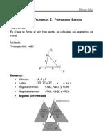 Propiedades básicas de los triángulos