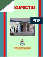 Economics Prospectus