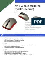Free Siemens NX (Unigraphics) Tutorial - Surface Modeling