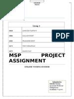 Msp Final Report